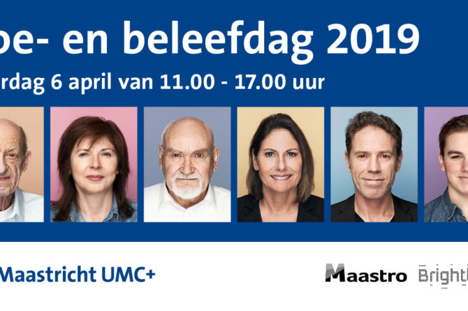 6 april 2019: Doe- en Beleefdag Maastro en MUMC+